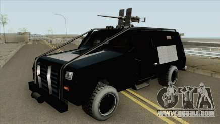 HVY RAID FBI Truck for GTA San Andreas