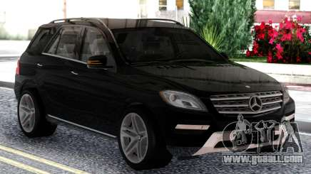 Mercedes-Benz ML Class 2013 Sport Black for GTA San Andreas