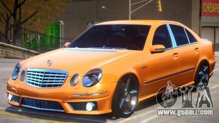Mercedes Benz E63 W211 for GTA 4