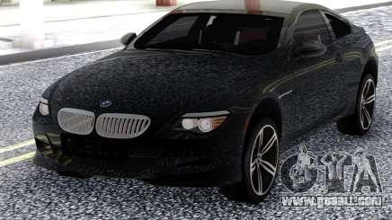 BMW M6 E63 2010 Black for GTA San Andreas