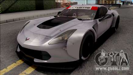Chevrolet Corvette C7R 2014 Paint Job Preset 1 for GTA San Andreas