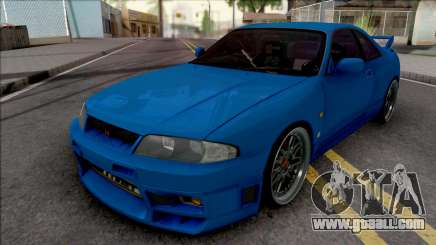 Nissan Skyline GT-R R33 for GTA San Andreas