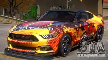 Ford Mustang GT V2 PJ2 for GTA 4
