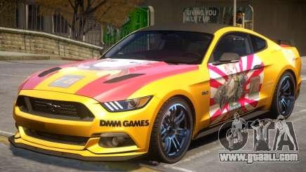Ford Mustang GT V2 PJ1 for GTA 4