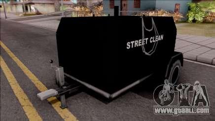New Utility Trailer SA Style for GTA San Andreas