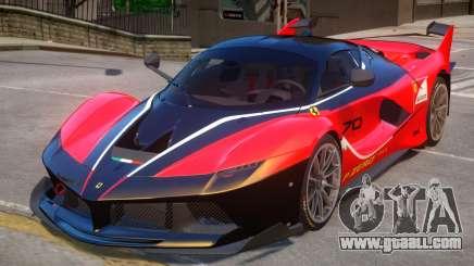 Ferrari FXX-K PJ1 for GTA 4