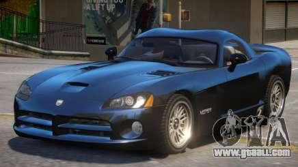 Dodge Viper SRT-10 V1 for GTA 4
