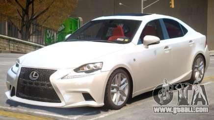 Lexus IS 350 V1 for GTA 4