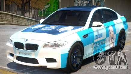 BMW M5 F10 PJ1 for GTA 4