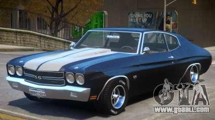 Chevelle SS 1970 v2 for GTA 4