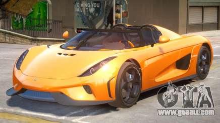 Regera Improved V2 for GTA 4