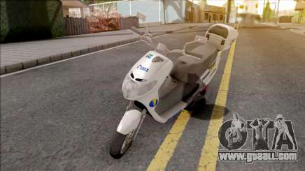 Suzuki Address BHPOST EXPRESS for GTA San Andreas
