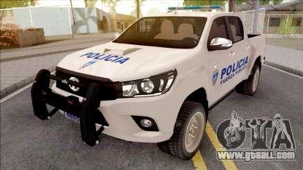 Toyota Hilux Policia Fuerza Publica for GTA San Andreas