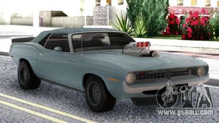Plymouth Hemi Cuda Convertible for GTA San Andreas
