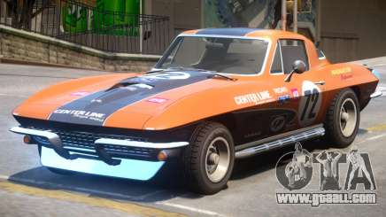 Chevrolet Corvette C2 PJ4 for GTA 4