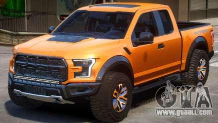 Ford Raptor V1.2 for GTA 4