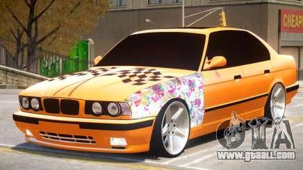 BMW M5 E34 V2.1 for GTA 4