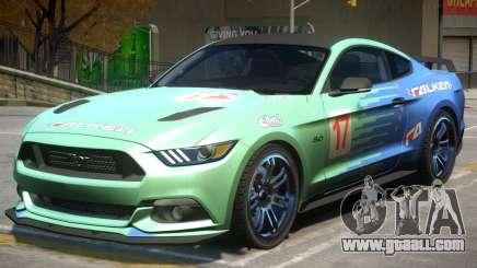 Ford Mustang GT V2 PJ4 for GTA 4