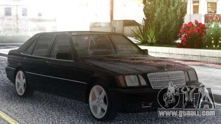 Mercedes-Benz S600 W140 Black Series for GTA San Andreas