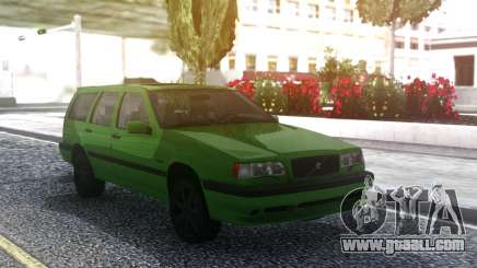 Volvo 850R 1997 Green for GTA San Andreas