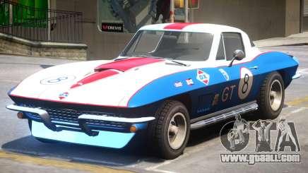 Chevrolet Corvette C2 PJ5 for GTA 4