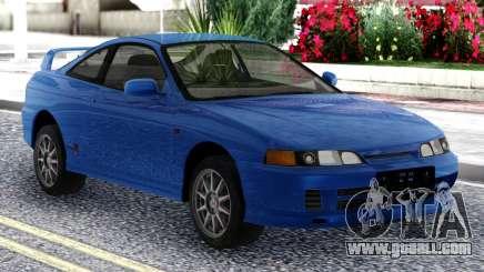 Honda Integra Tipe R Blue for GTA San Andreas