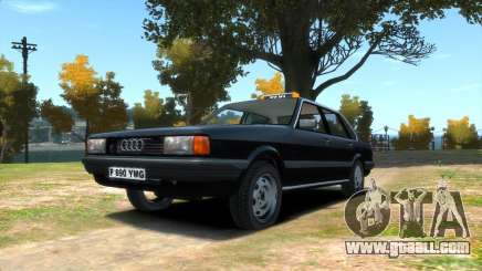 Audi 80 b2 (L.C. Taxi) for GTA 4