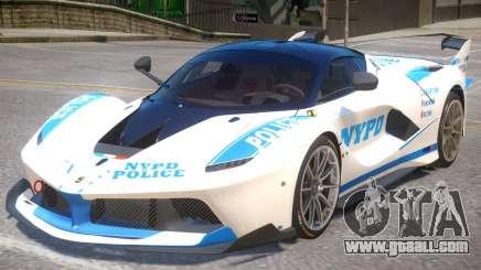 Ferrari FXX-K Police for GTA 4