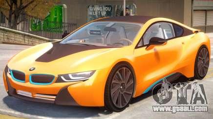 BMW i8 for GTA 4