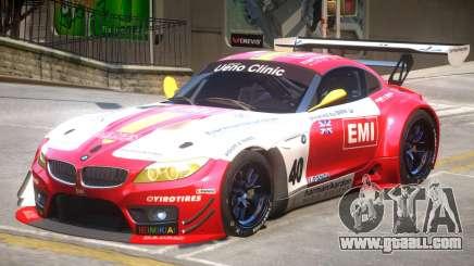 BMW Z4 GT3 PJ4 for GTA 4