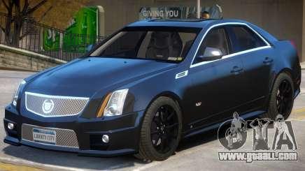 Cadillac CTS-V Improved for GTA 4