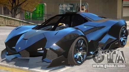 Lamborghini Egoista V2 for GTA 4