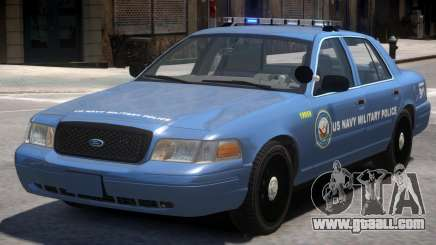 Ford Crown Victoria Military Police for GTA 4