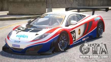 McLaren MP4 PJ1 for GTA 4