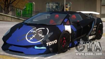 Lamborghini SE PJ2 for GTA 4