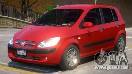 Hyundai Getz V2 for GTA 4