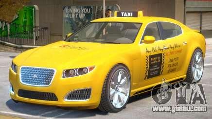Lampadati Felon TaxiCar for GTA 4