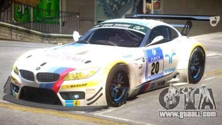BMW Z4 GT3 PJ1 for GTA 4