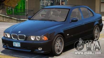 BMW M5 E39 V1.1 for GTA 4