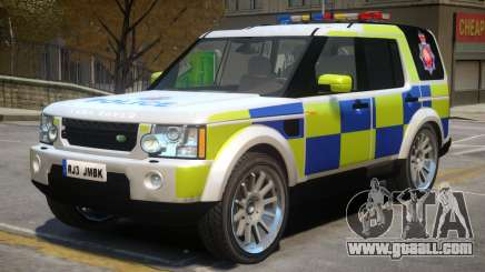 Land Rover Police for GTA 4