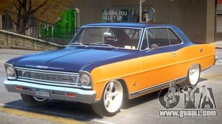 1966 Chevrolet Nova PJ1 for GTA 4