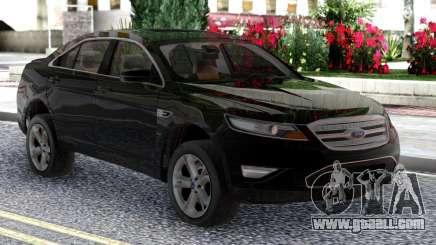 Ford Taurus SHO 2010 Black Original for GTA San Andreas