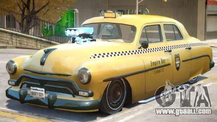 Quicksilver Windsor TaxiCar for GTA 4