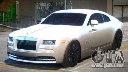 Rolls Royce Wraith V1.2 for GTA 4