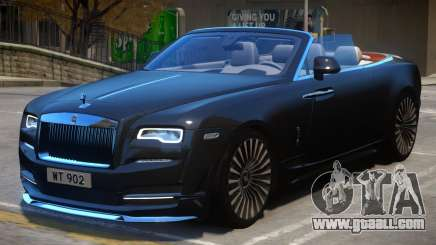 2016 Rolls Royce Dawn Onyx Concept for GTA 4