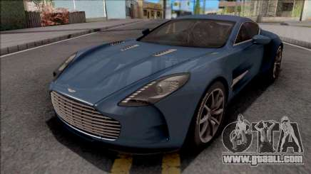Aston Martin One-77 2012 for GTA San Andreas