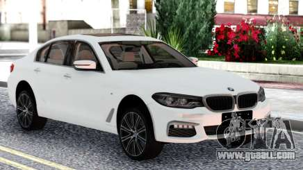 BMW 540i G30 White Sedan for GTA San Andreas