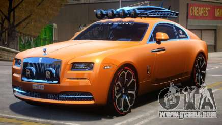 2014 Jon Olsson Rolls Royce Wraith for GTA 4