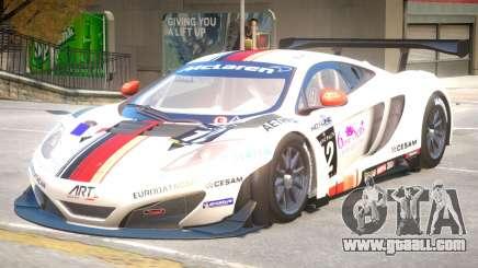 McLaren MP4 PJ2 for GTA 4