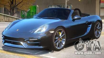 Porsche Boxster GTS for GTA 4